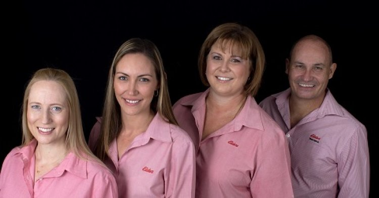 Elders insurance team members at Elders Insurance Mount Isa office